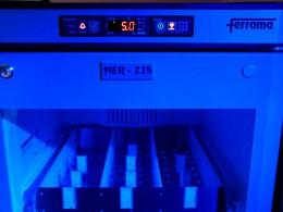 Isolierglastür für Modell MER/MEB-140