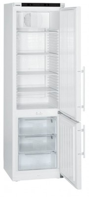 Kühl- und Gefrierkombination mit Komfort-Elektronik, mit / ohne explosionsgeschütztem Innenraum