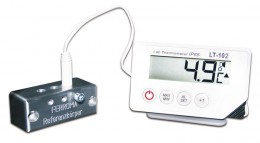 MinMax-Laborthermometer mit Werksprüfzeugnis